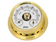 Talamex Boot Baro-Thermo-Hygrometer Serie 125 Messing