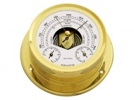 Talamex Boot Baro-thermo-hygrometer Serie 165 Messing